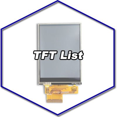 TST Standard TFT Products List
