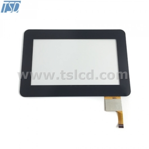 TFT cover lens 5'' tft LCD screen with CTP