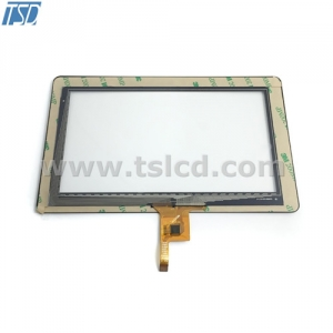 7inch tft lcd panel with CTP with AR coating