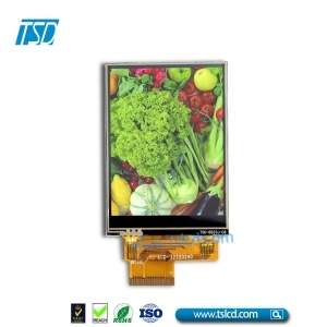 3.2inch 240x320 TFT LCD module with ZIF FPC connector with RTP