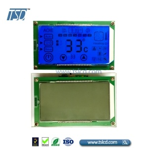 custom HTN lcd with capacitive touch inside