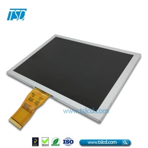 color TFT 8.0 inch 1024*600 res with LVDS interface