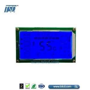 custom HTN lcd with capacitive touch integrated