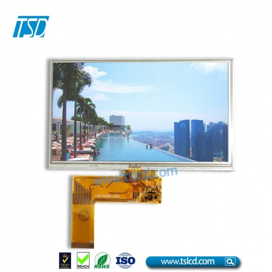 "1000nits 7"" TFT LCD with RTP"