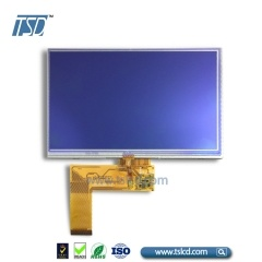 "7"" color TFT LCD 40pin with RTP"