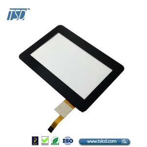 color cover lens 4.3'' tft lcd screen with AR coating