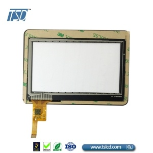 500cd/m2 4.3'' tft lcd panel with cover lens touch