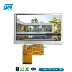 4.3 inch tft lcd display 400 nits