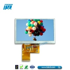 1000 nits 4.3inch lcd with RTP