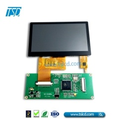 Super high brightness 5 inch tft lcd display