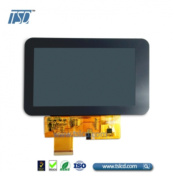 5 inch tft lcd display low luminance with Capacitive touch panel