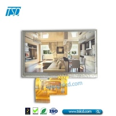 High brightness 4.3inch tft lcd with RTP