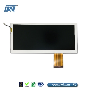 1280x720 resolution 8.88 inch IPS LCD screen bar type with LVDS interface