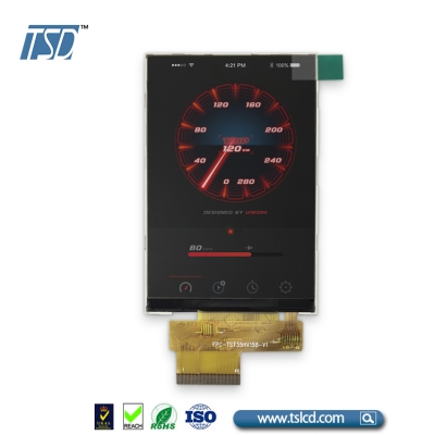 3.0 inch high resolution TFT LCD