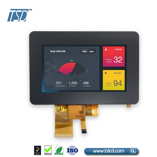 4.3 inch IPS TFT with CTP