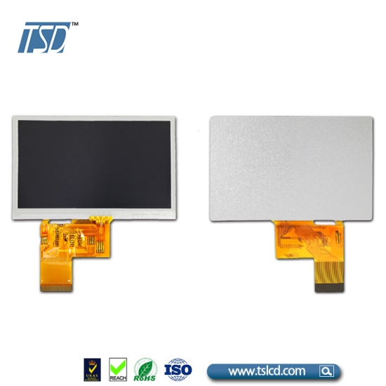4.3 inch tft lcd display with 6 o'clock viewing angle