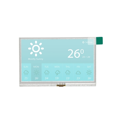 4.3 inch tft lcd display with RTP